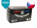 Respirátor FFP2 Czech Royal Protection BALENÍ 1ks