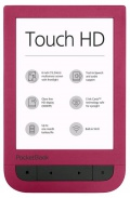 E-book POCKETBOOK 631 Touch HD, červený