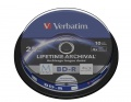 VERBATIM M-Disc BD-R(10-pack)Spindle/4x/25GB